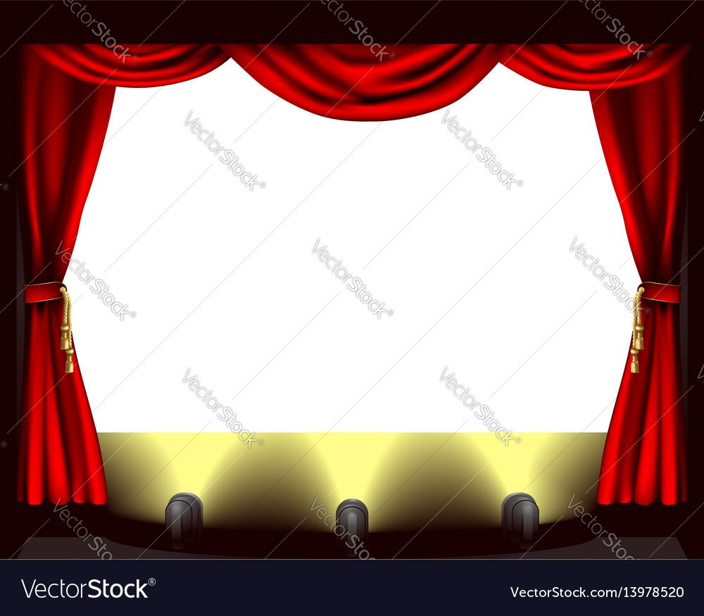Theatre stage