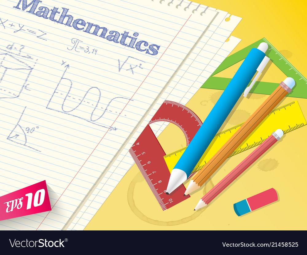 School math template