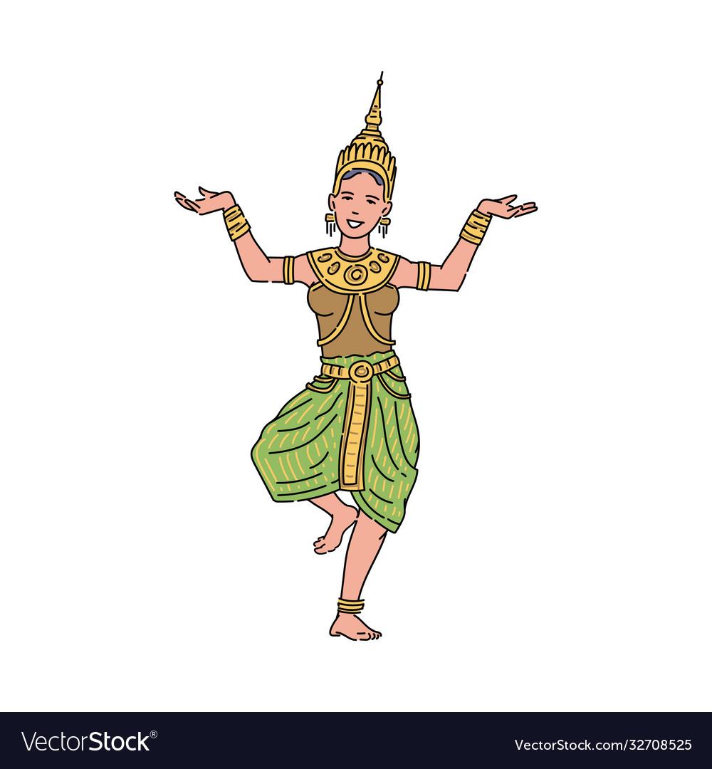 https://cdn1.vectorstock.com/i/1000x1000/85/25/thai-goddess-beautiful-woman-symbol-loy-vector-32708525.jpg