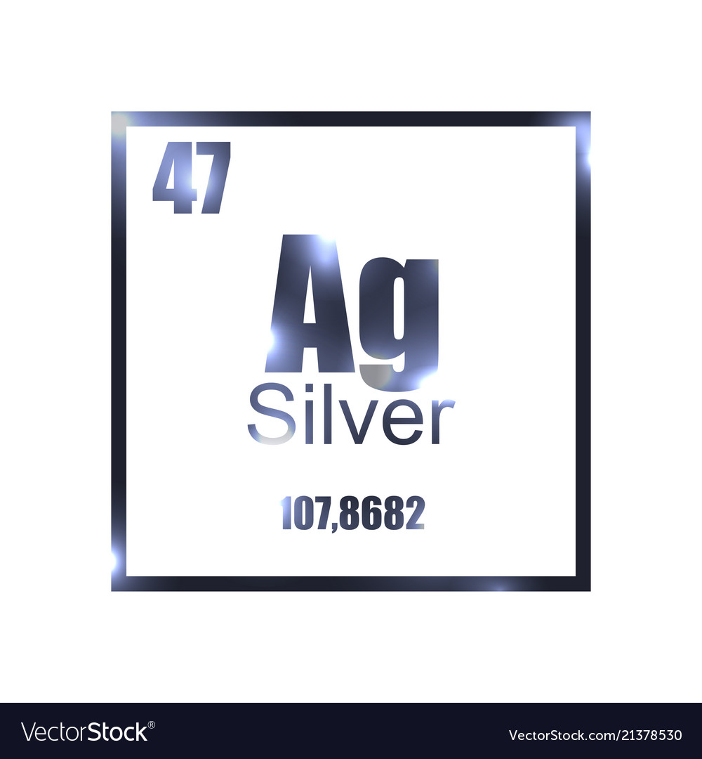 Argentum silver periodic table element royalty free vector argentum silver periodic table element vector image urtaz Images