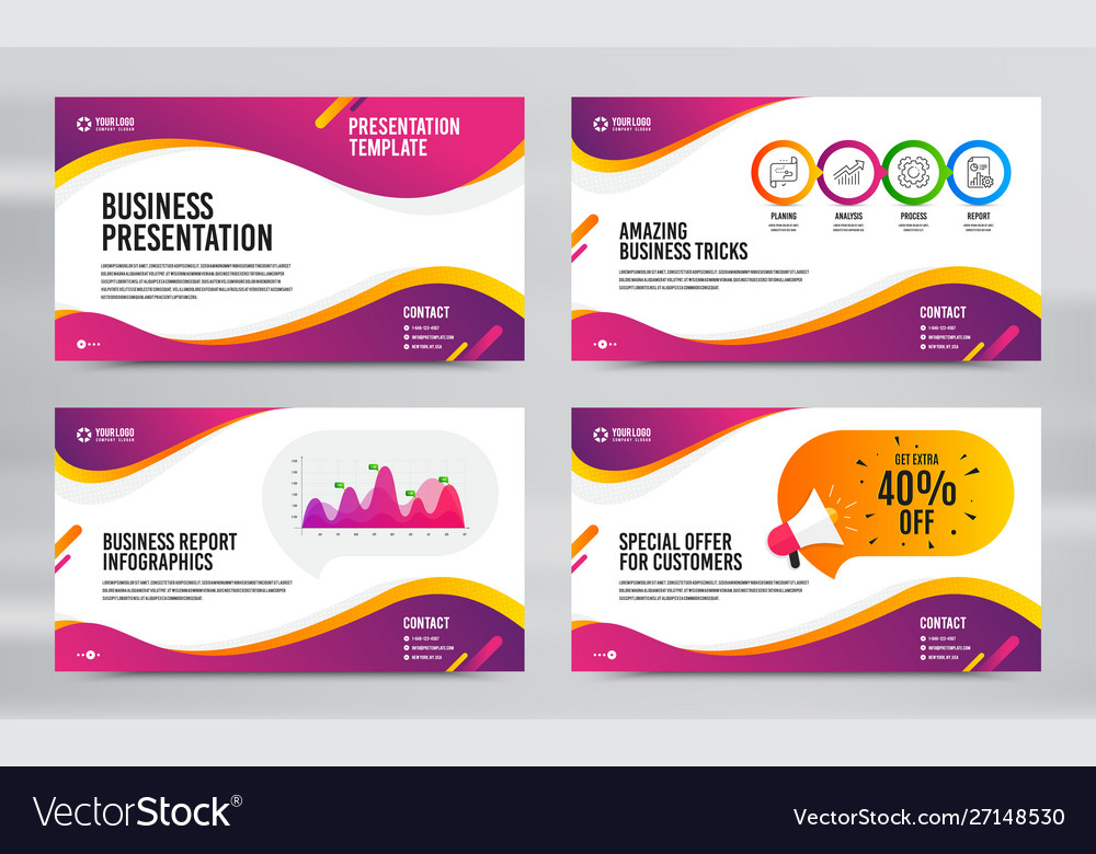 Layout Design With Cover Page Report Presentation