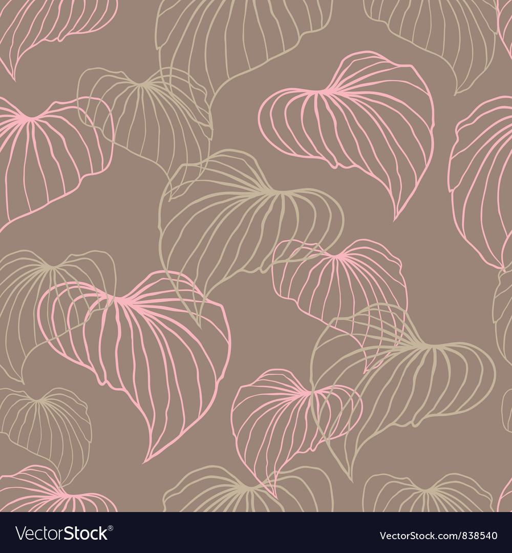 Leaves Seamless stylish pattern