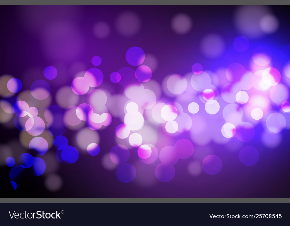 Abstract circle blurred bokeh lights and glitter