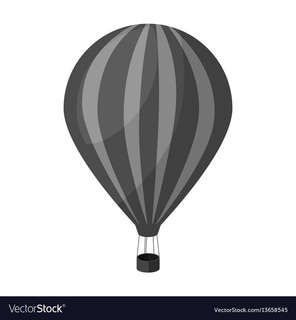 Air balloon for walking transport works on warm