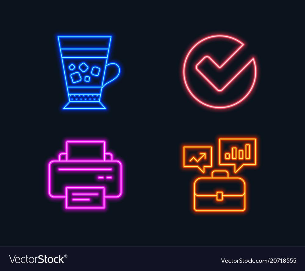 Verify frappe and printer icons business