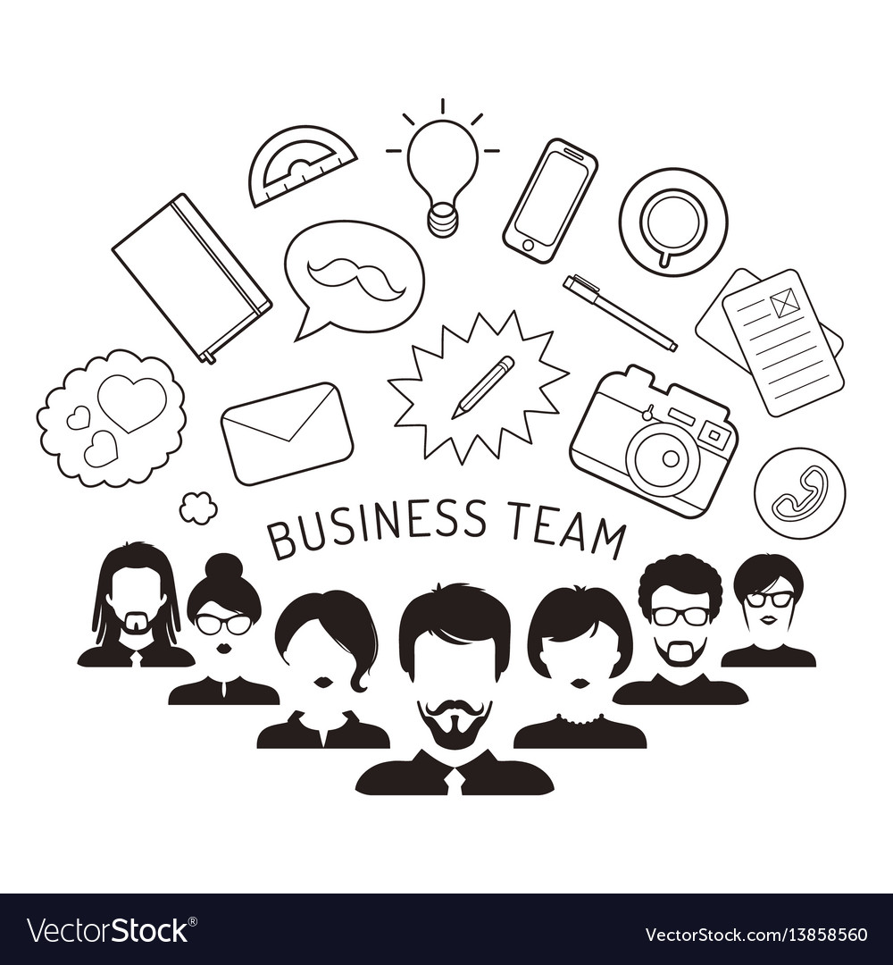 Business team management in