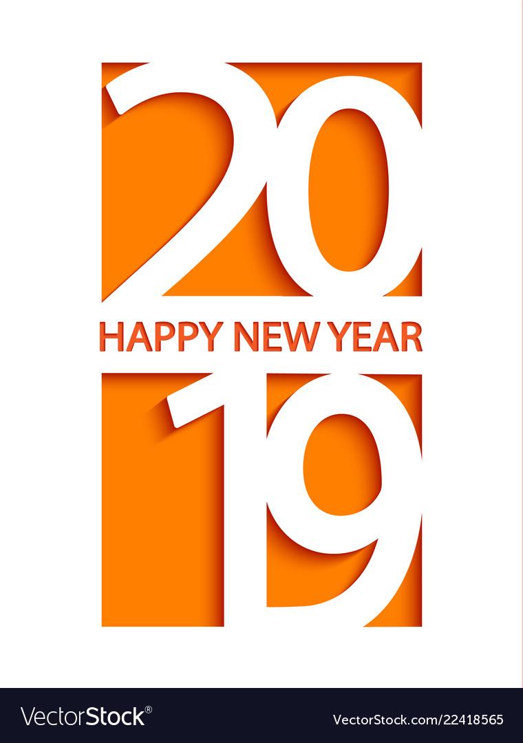 Happy New Year Orange 102