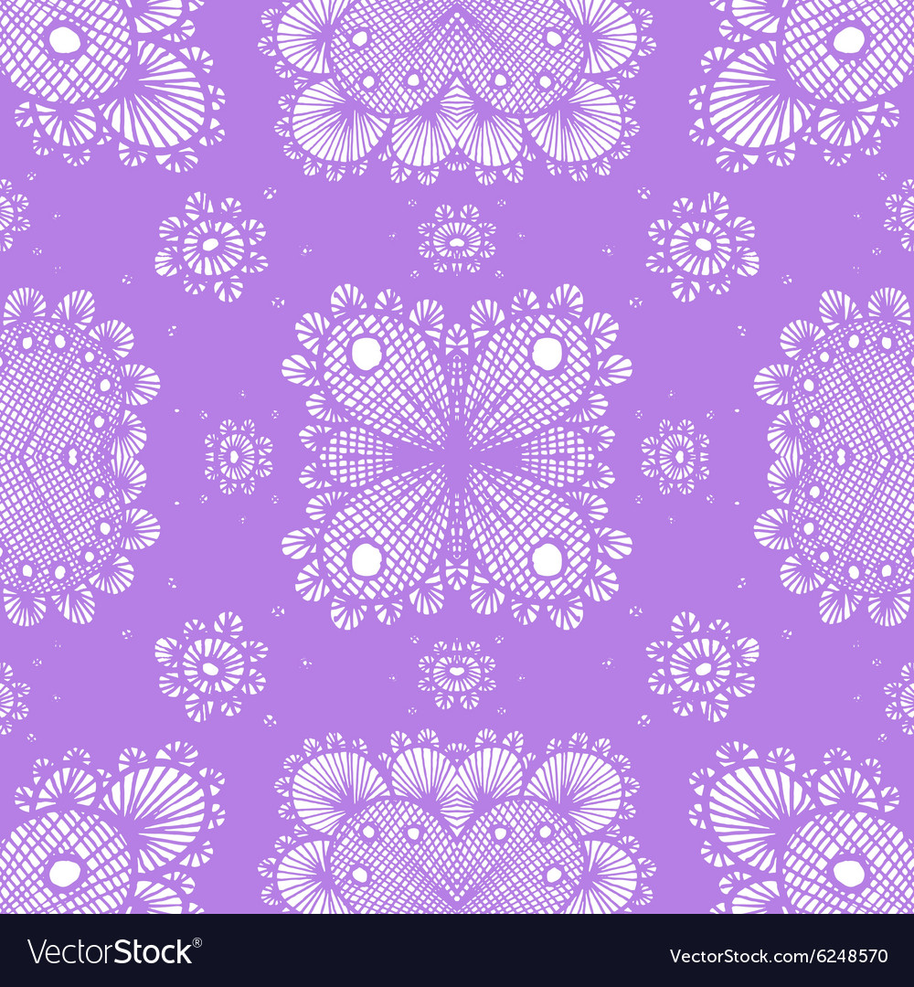 Lace pattern Eps10 vector image