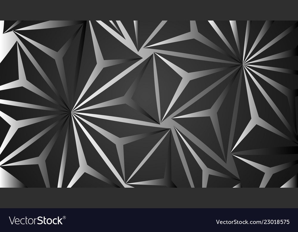 Design background abstract black polygon