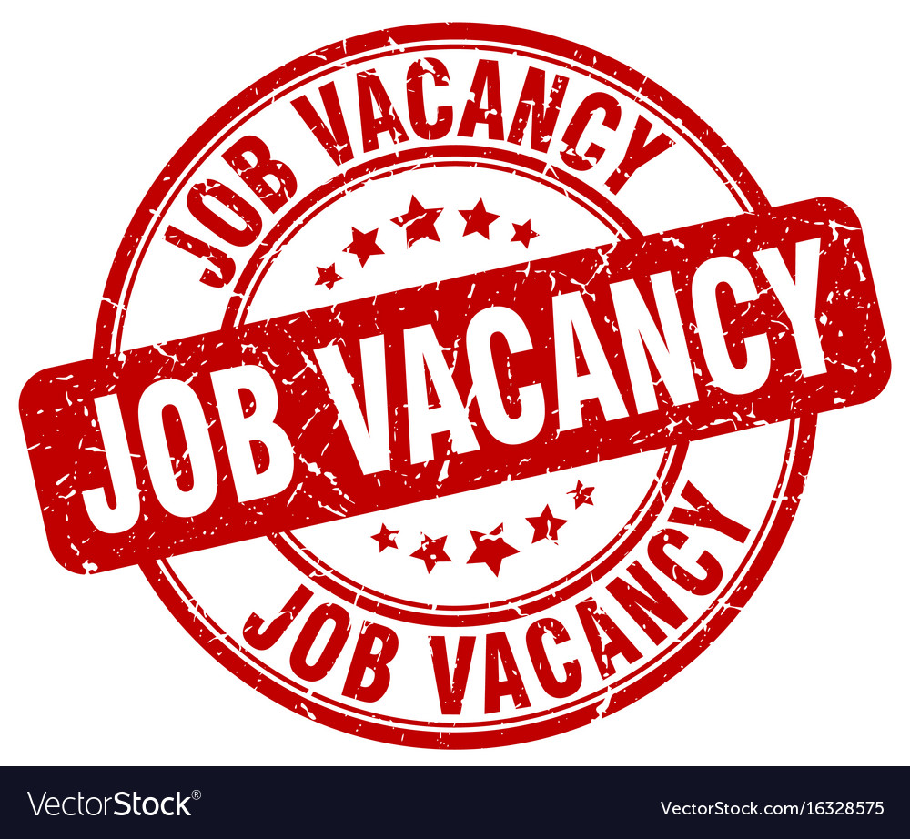 Job vacancy stamp Royalty Free Vector Image - VectorStock