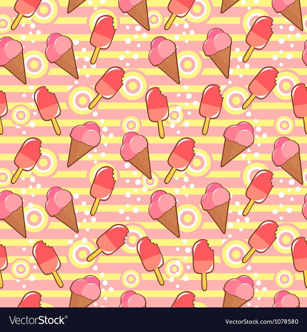 Ice crea pattern