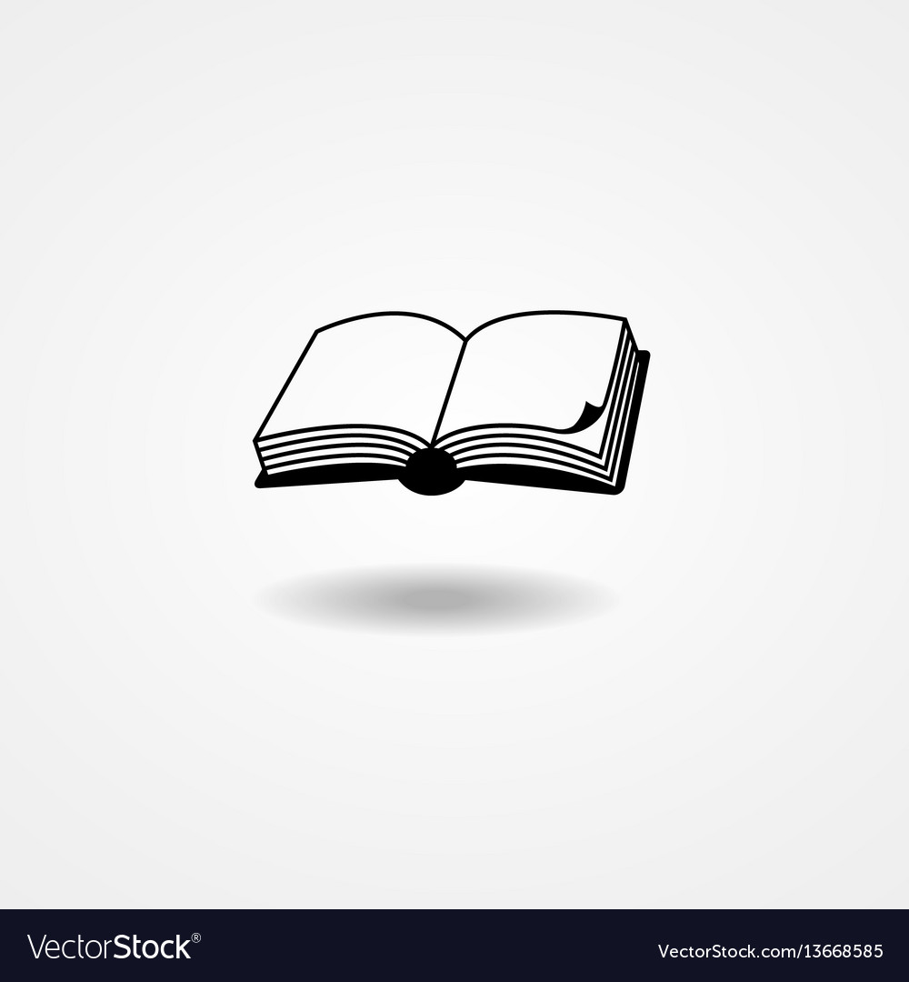 Book vector image