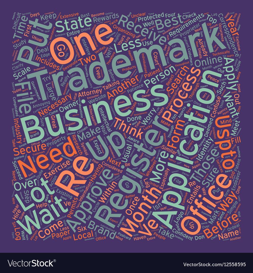 Registered trademark text background wordcloud