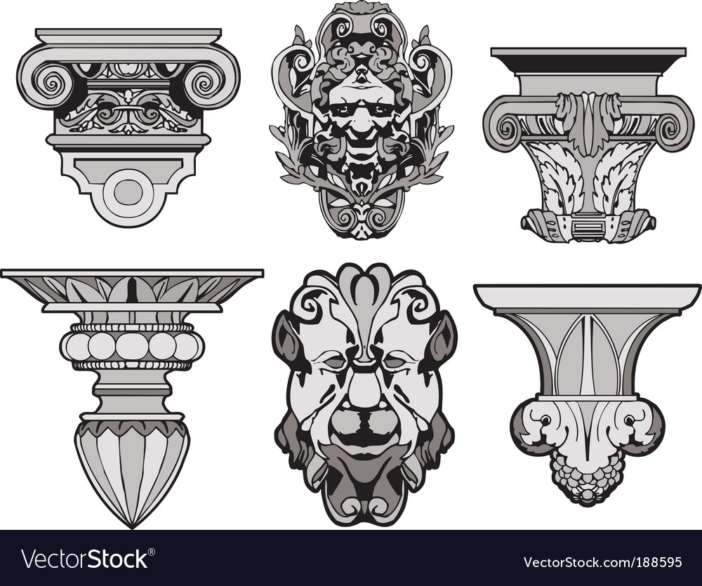 Roman architectural decorations