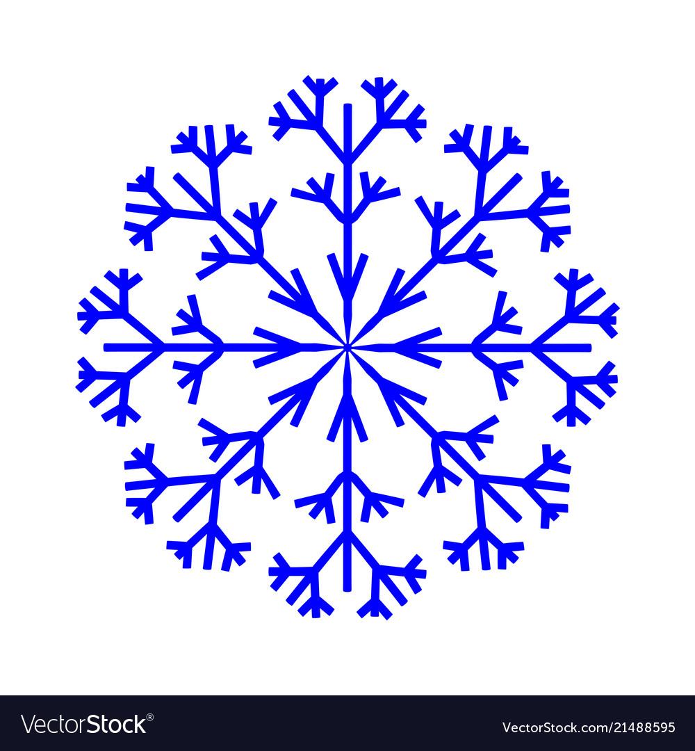 Snowflake sign 2710
