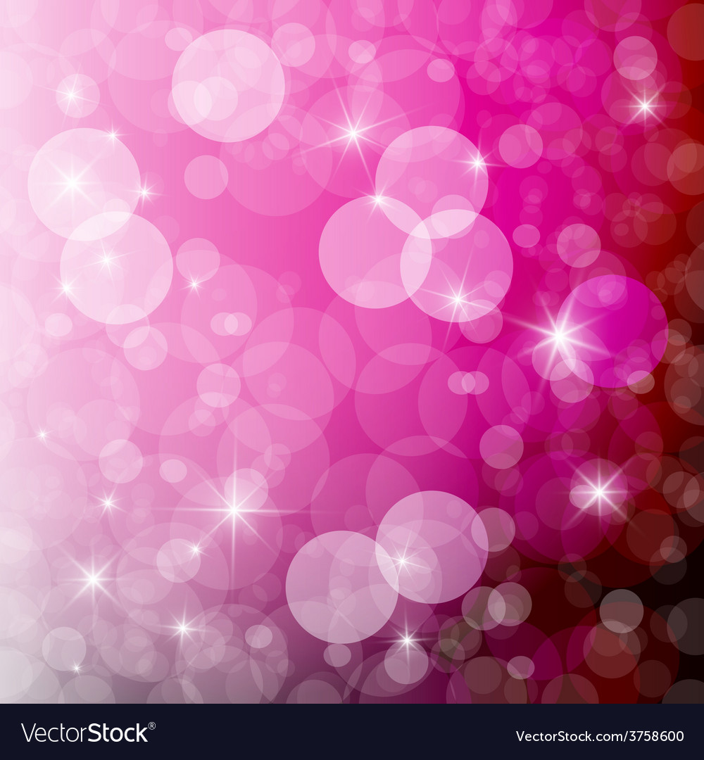 Abstract Pink Blurred Bokeh Background