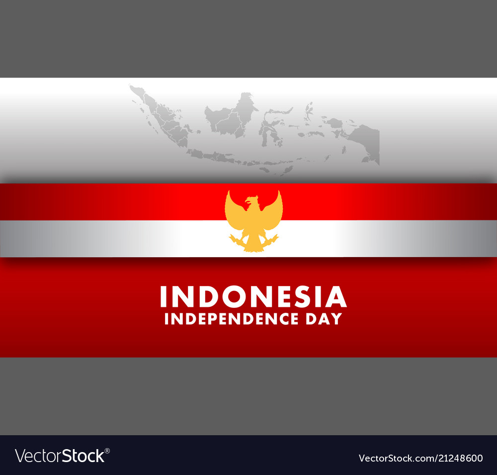 Indonesia independence day wide screen background
