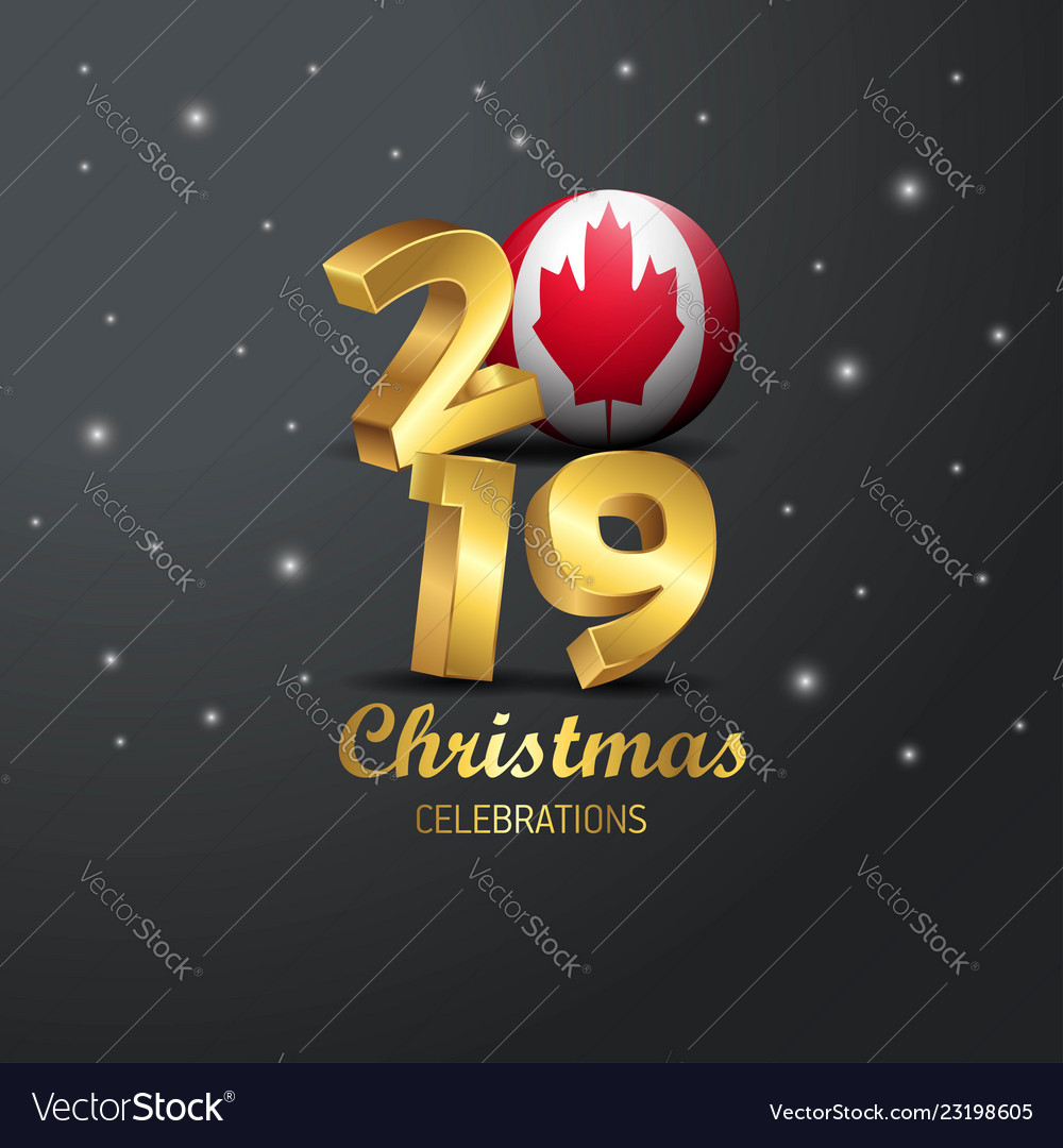 Christmas In Canada 2019 Day, Christmas & Canadian Vector Images (25)