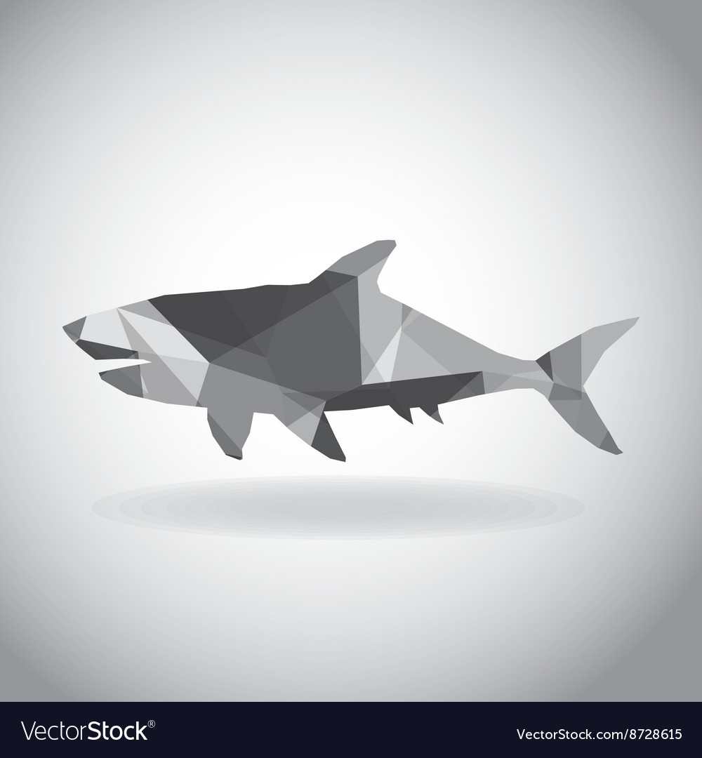 Origami Shark Vector Images 52