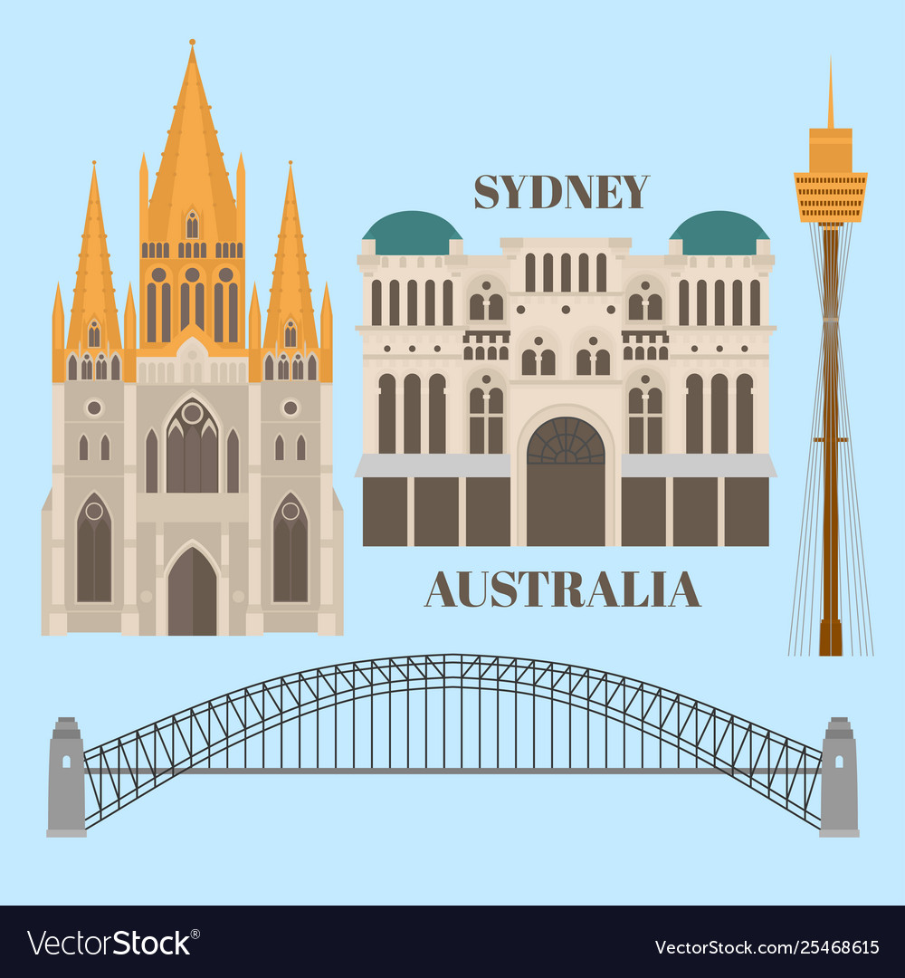 Sightseeing and landmark architecture australia