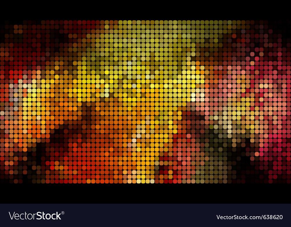 Abstract bright mosaic