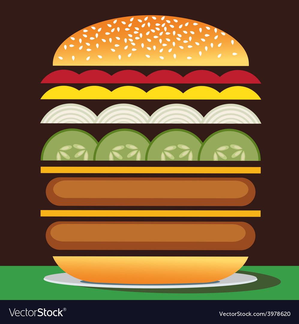 Cheeseburger double