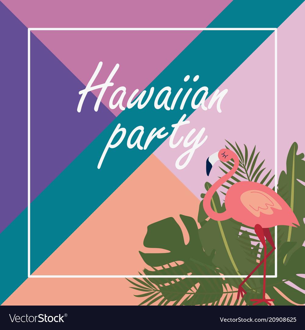Christmas In Hawaii Party.Hawaiian Party Banner