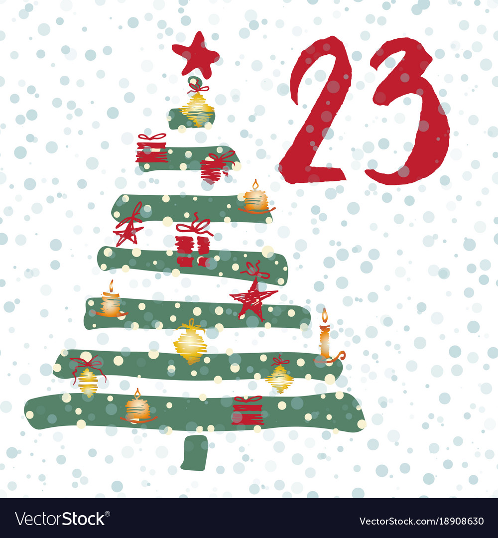 advent calendar 25 days of christmas