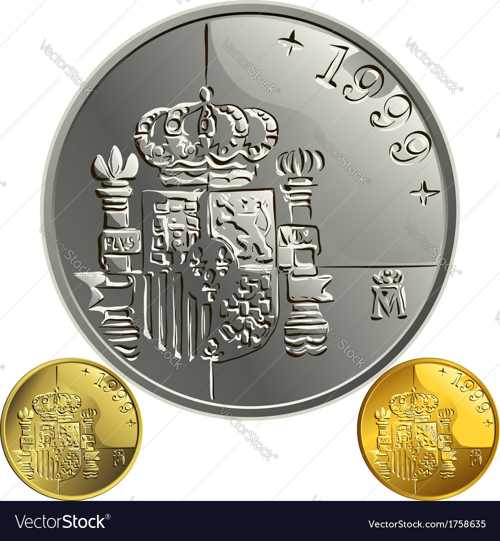 Spanish money peseta