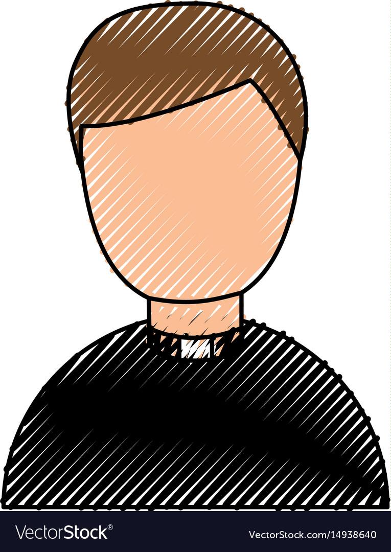 Cute priest avatar character