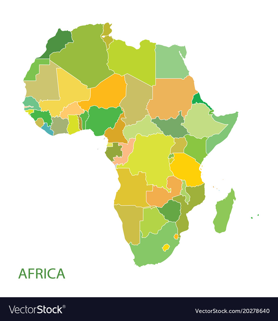 african continent map - Monza berglauf-verband com