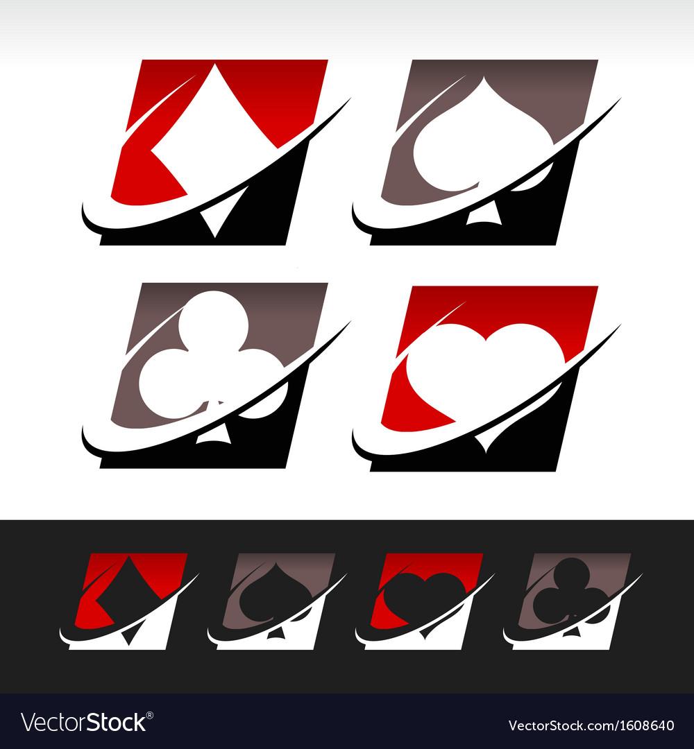 Swoosh Poker Icons