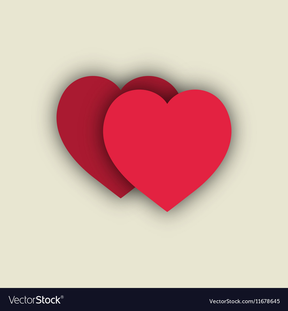 Heart Couple T Shirt 3 Royalty Free Vector Image