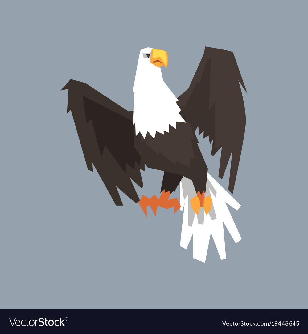 North American Bald Eagle Symbol Of Usa Royalty Free Vector
