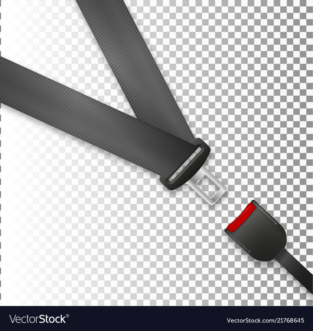 Seat belt icon isolated on white background
