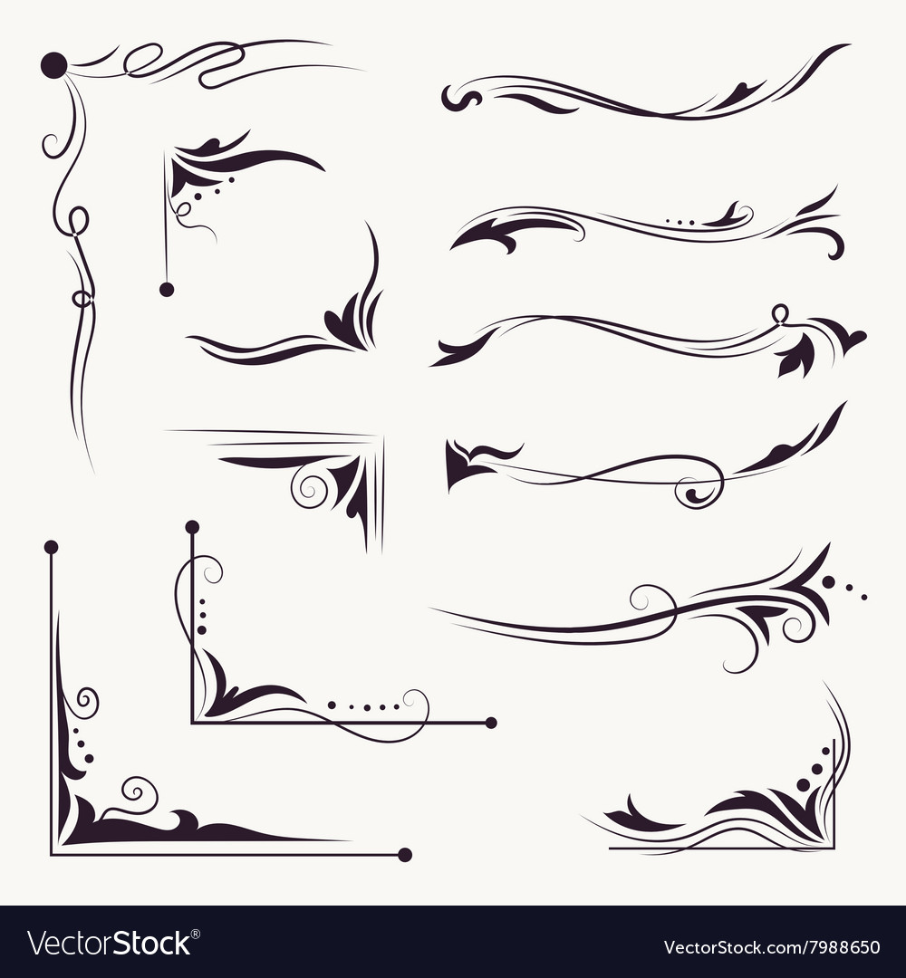 Elegant Arabic Vignettes