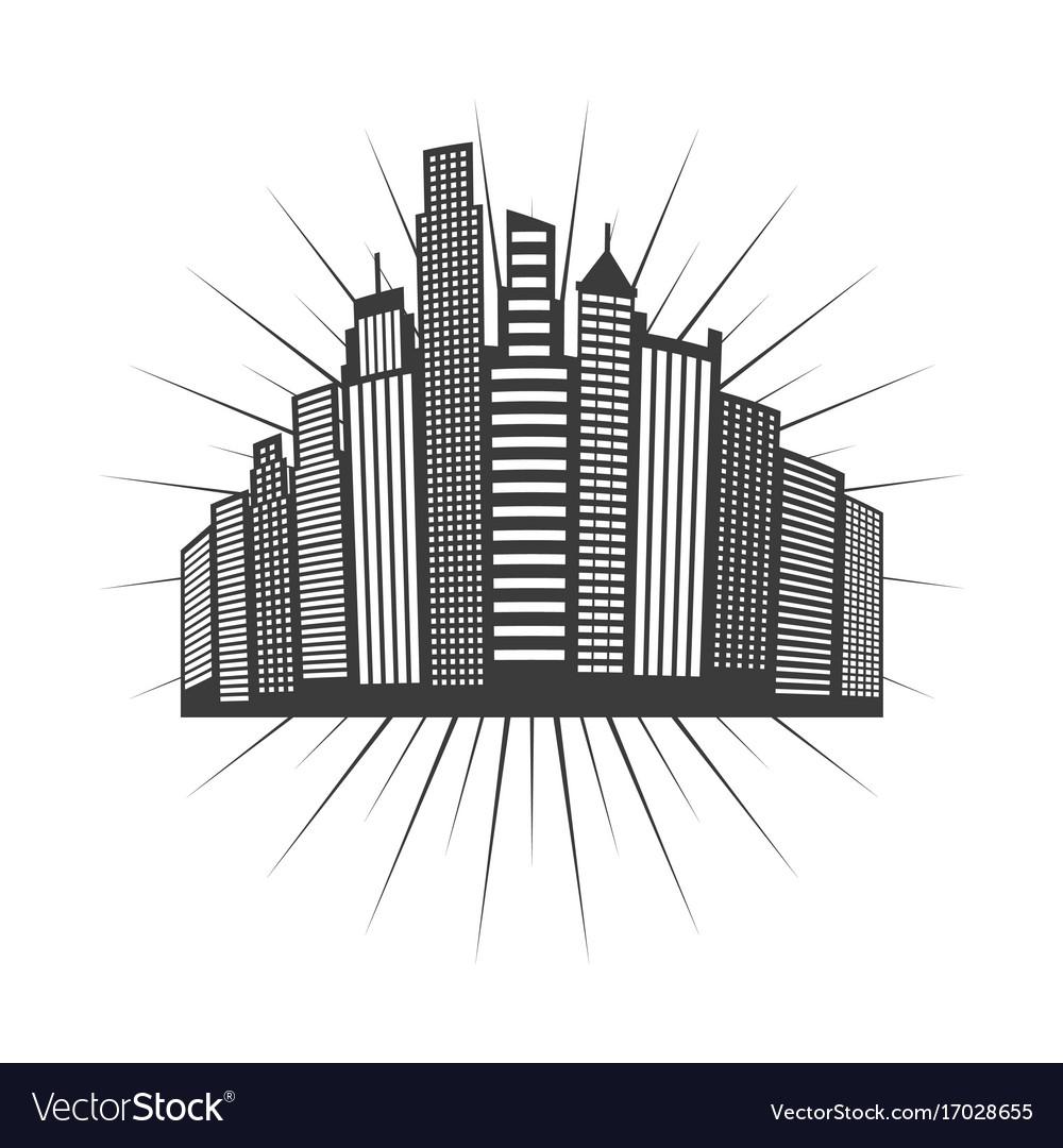 Cityscape skyline design