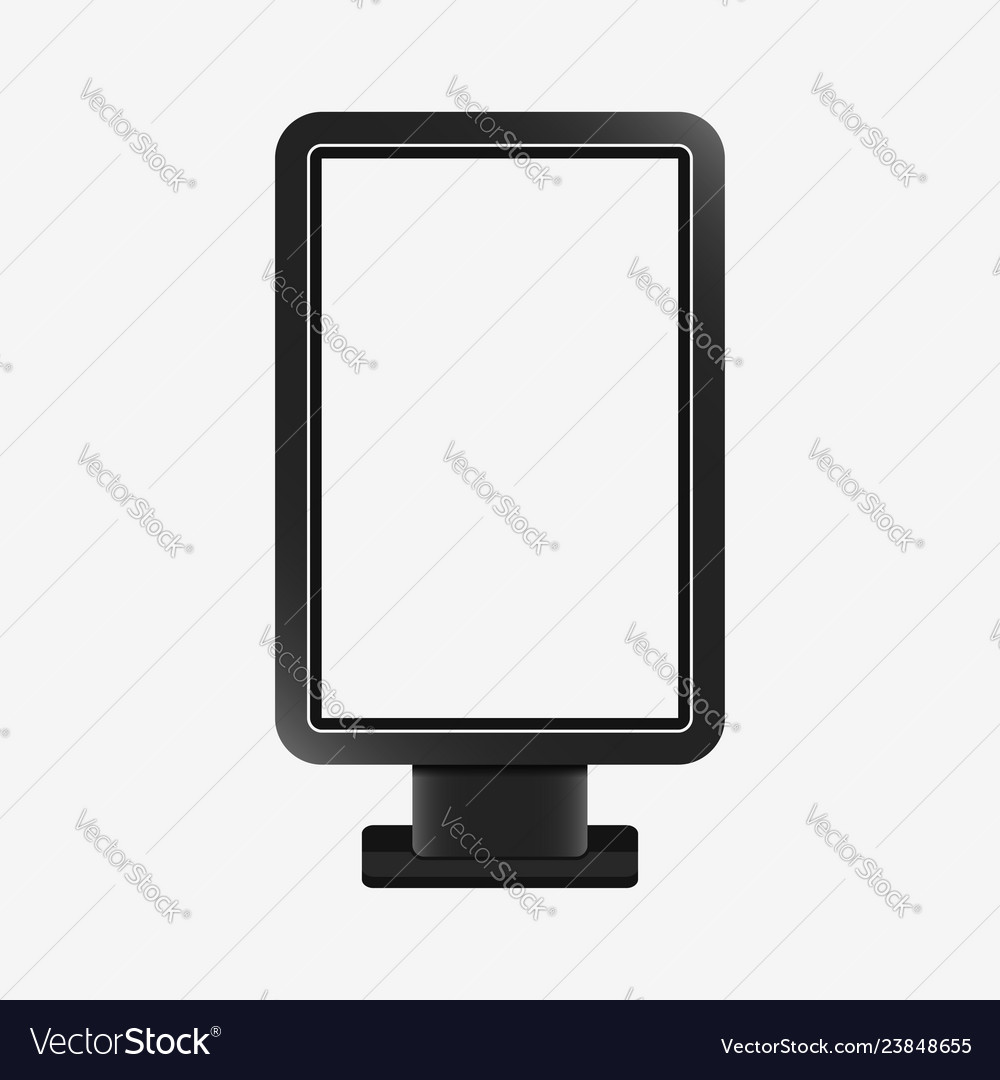 Light box - realistic mockup