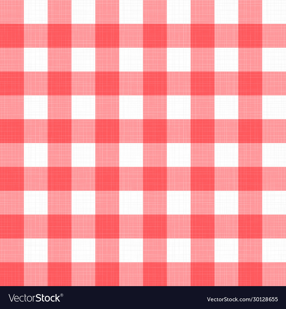 Linen gingham checkered blanket tablecloth