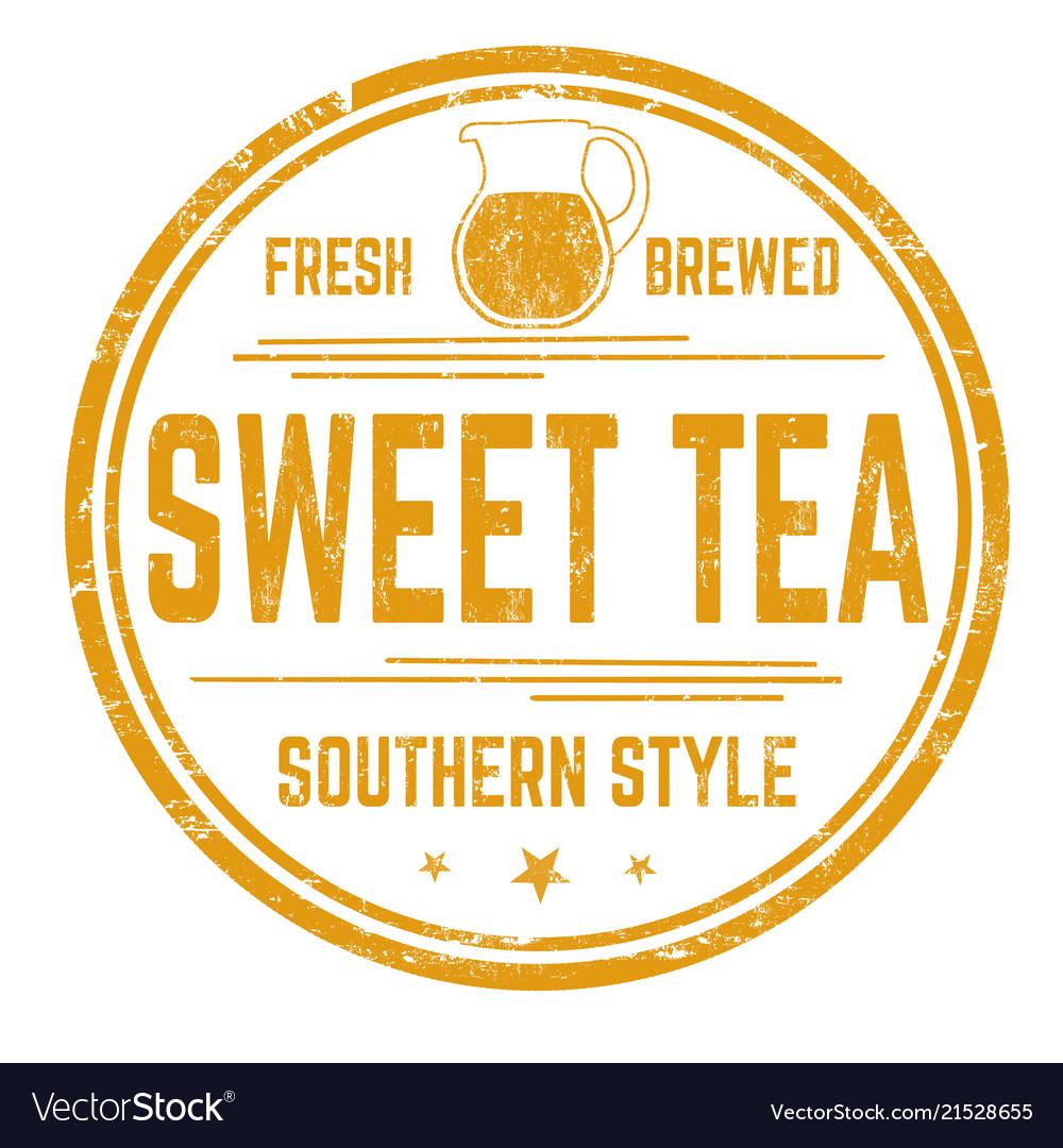2f3f62eddbbd9 Sweet tea sign or stamp