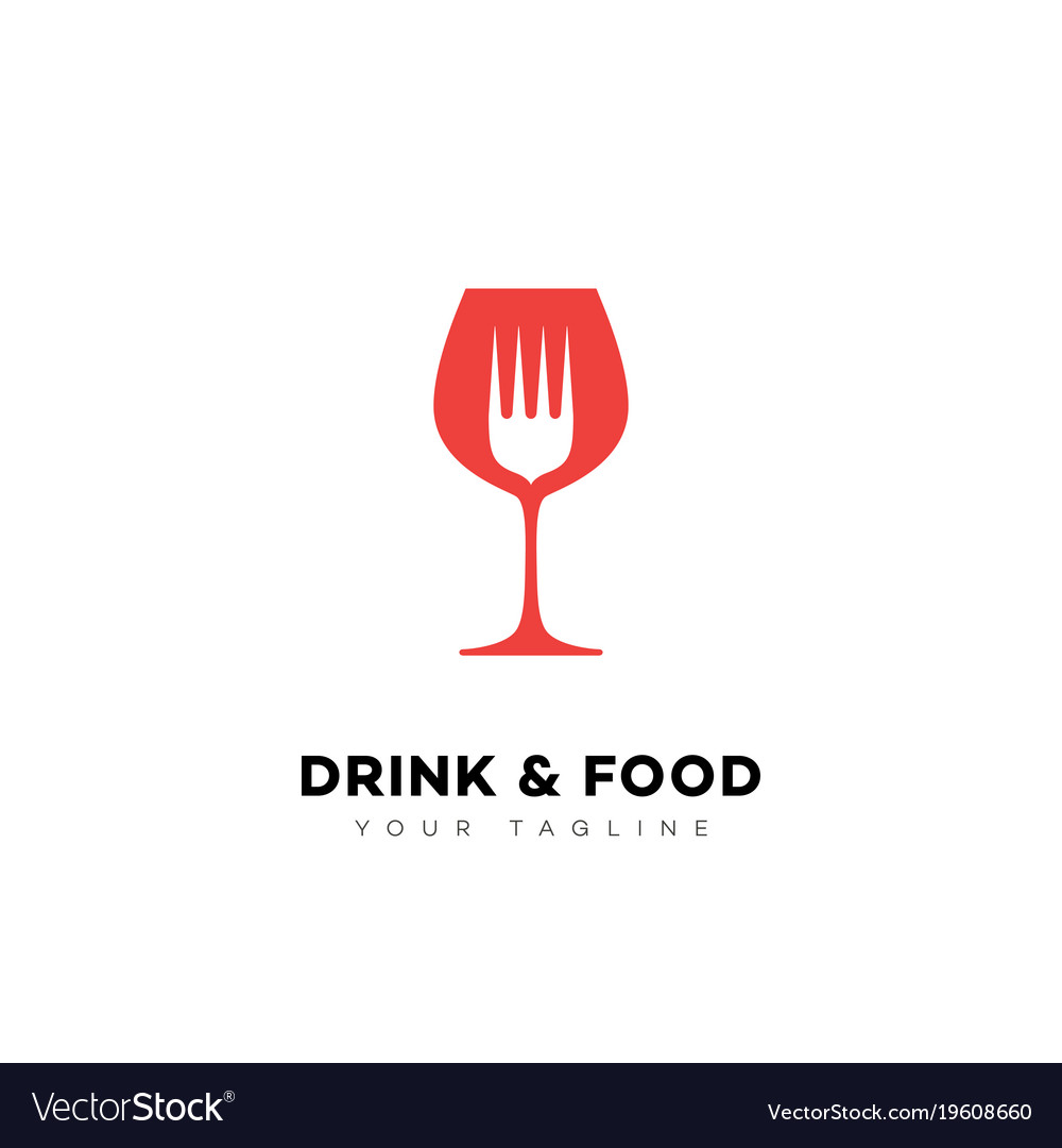 Drink and food logo
