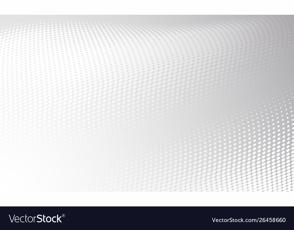 White gray modern bright halftone background