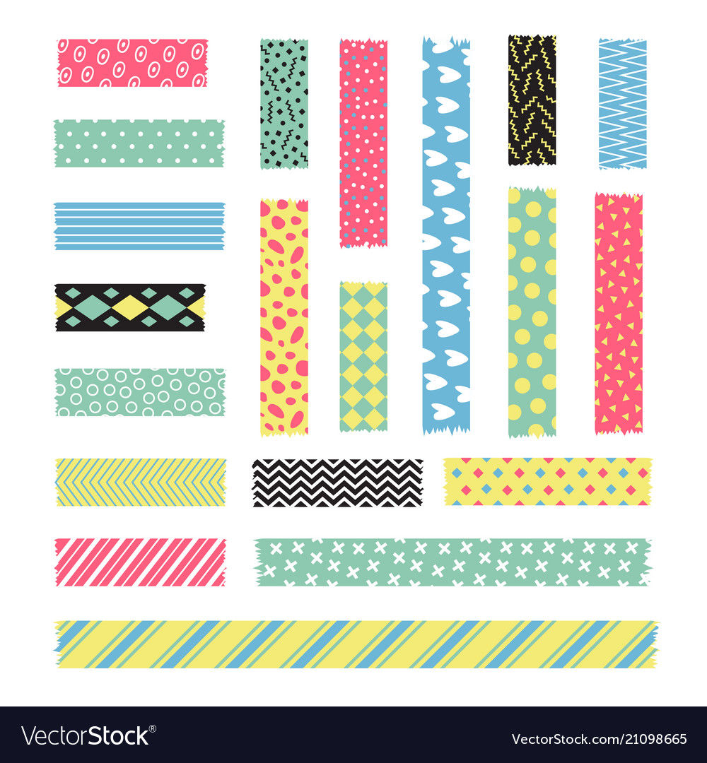Adhesive stripe with fancy texture scrapbook