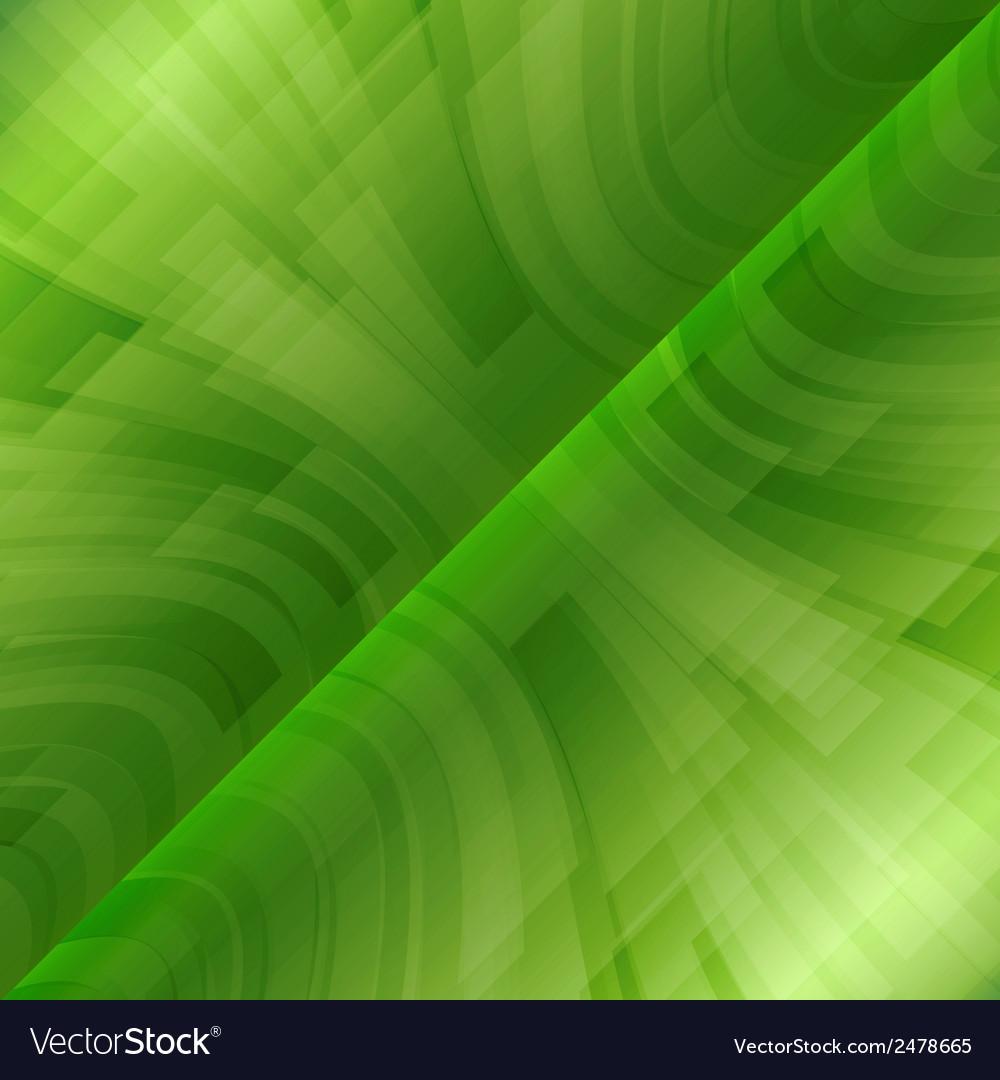 Background green stripes wave diagonal