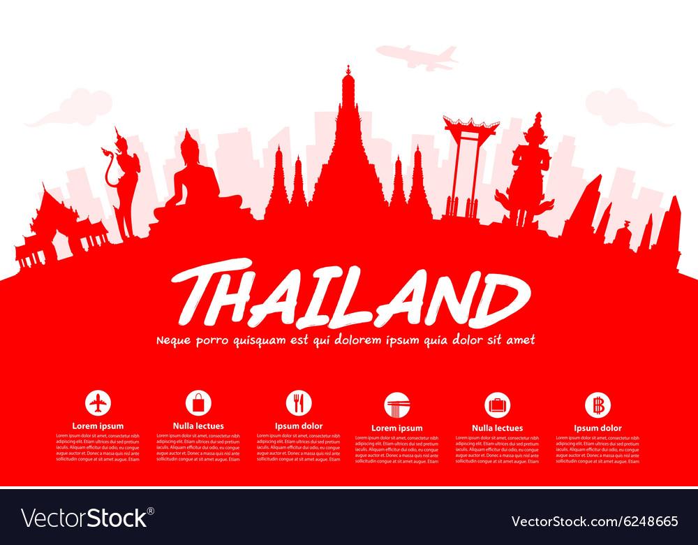 Thailand Travel Landmarks