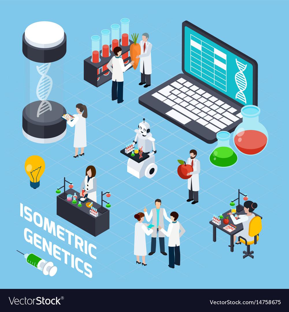 Gmo isometric composition