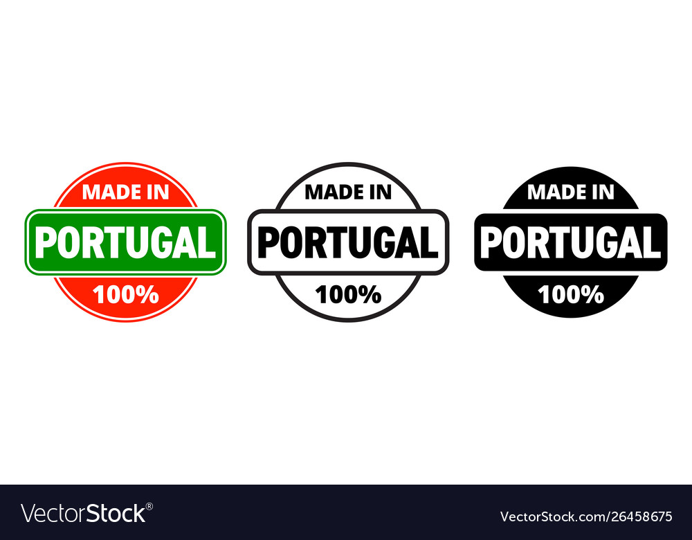 Made in portugal icon portuguese made quality