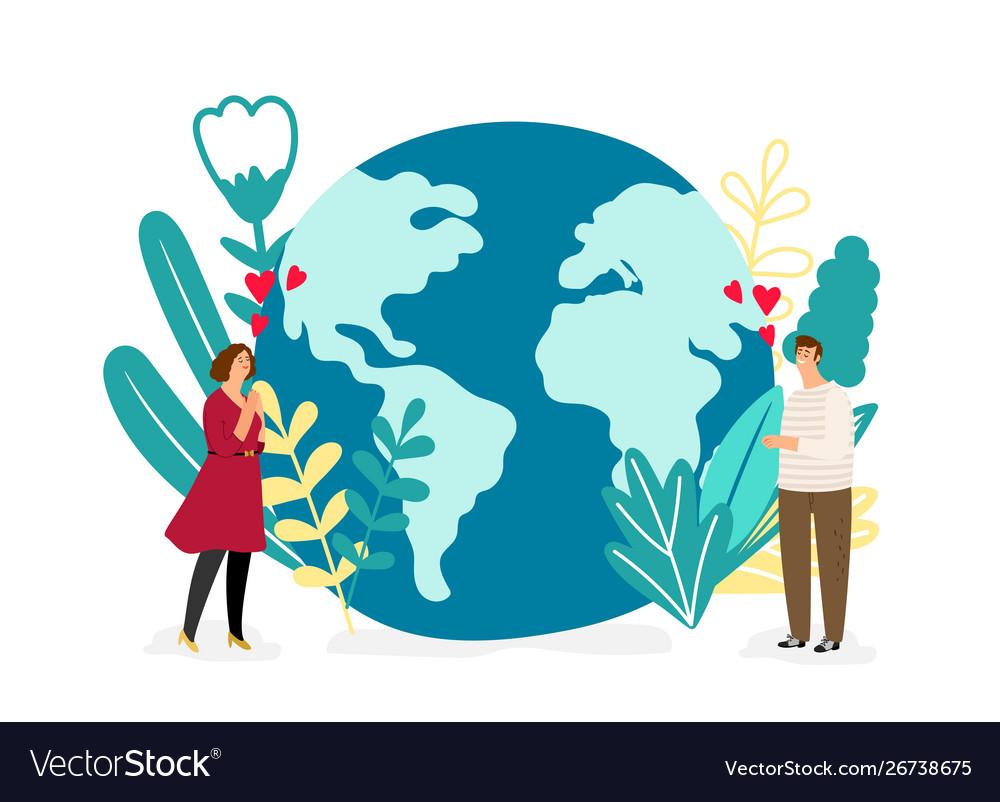 Save planet environmental