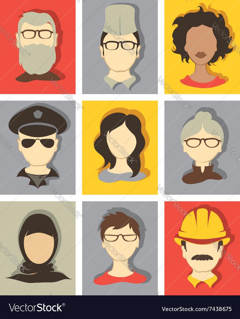 Set - avatars