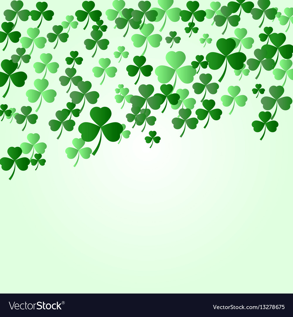 St patrick s day background